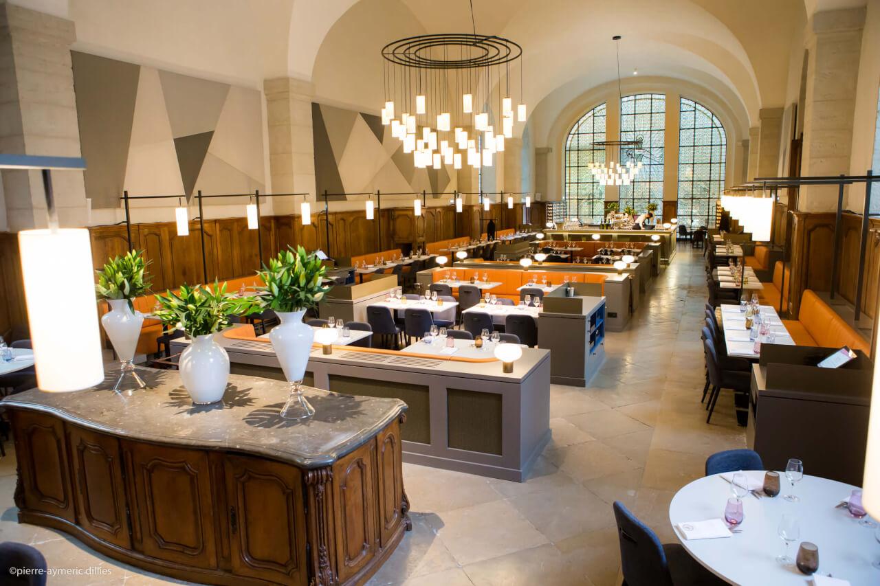 Le Grand Réfectoire Restaurant Lyon Grand Hôtel Dieu
